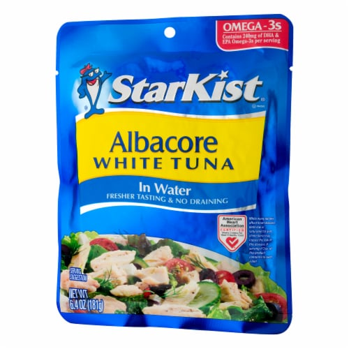 StarKist Albacore White Tuna in Water Perspective: right