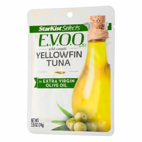 StarKist Selects E.V.O.O. Yellowfin Tuna in Extra Virgin Olive Oil Perspective: right