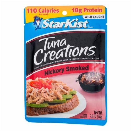 StarKist® Tuna Creations Hickory Smoked Seasoned Tuna Perspective: right