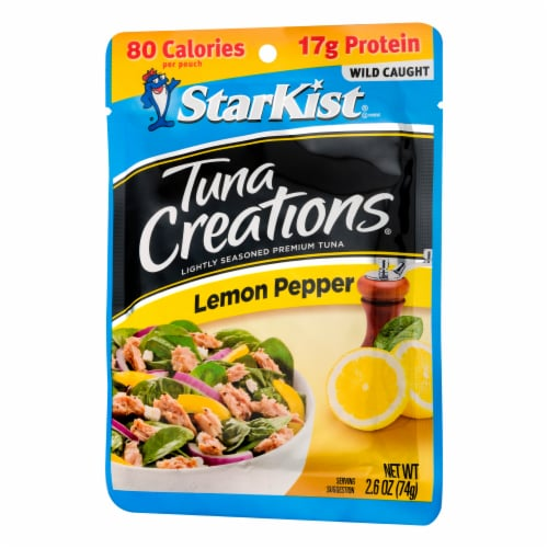 StarKist Tuna Creations Lemon Pepper Seasoned Tuna Perspective: right