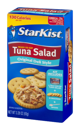 StarKist Original Deli Style Ready-to-Eat Tuna Salad Kit Perspective: right