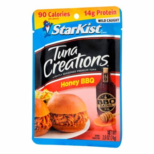 StarKist Tuna Creations Honey BBQ Seasoned Tuna Perspective: right