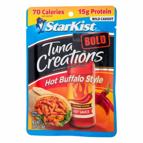 StarKist Tuna Creations Bold Hot Buffalo Style Seasoned Tuna Perspective: right