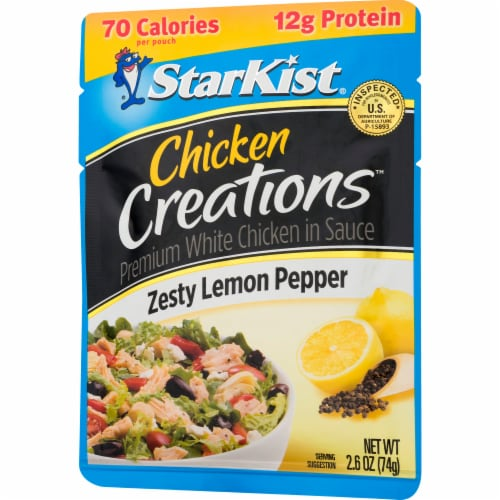 StarKist Chicken Creations Zesty Lemon Pepper Chicken in Sauce Perspective: right