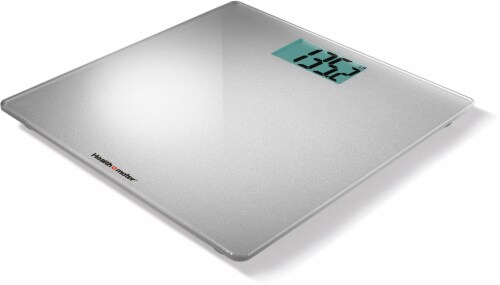 Health-O-Meter Glass Weight-Tracking Scale - Silver Perspective: right