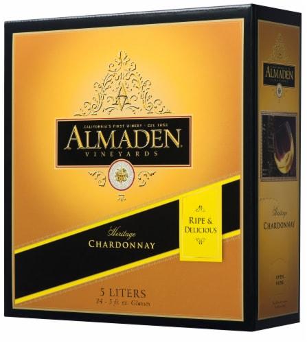 Almaden California Chardonnay White Wine Perspective: right