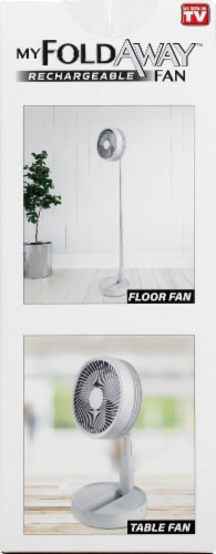 Bell and Howell MyFoldway Rechargeable Fan Perspective: right
