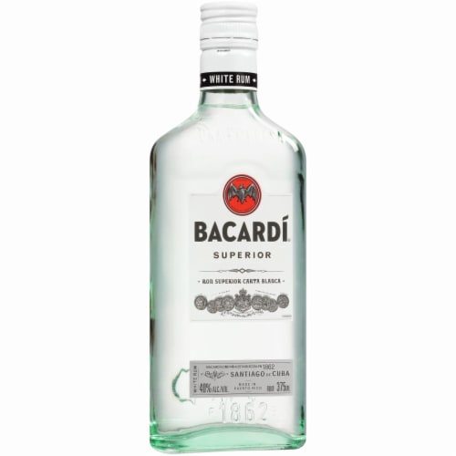 Bacardi Superior White Rum Perspective: right