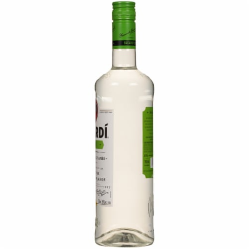 Bacardi Lime Rum Perspective: right