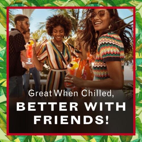 Bacardi Hurricane Premium Rum Cocktail Perspective: right