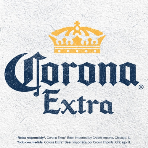 Corona® Extra Lager Beer Perspective: right