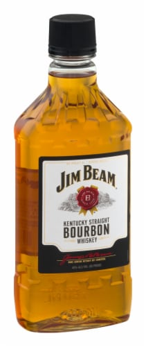 Jim Beam Kentucky Straight Bourbon Whiskey Perspective: right