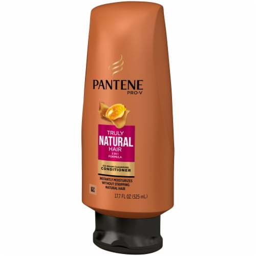 Pantene Pro-V Truly Natural Hair Co-Wash Cleansing Conditioner Perspective: right