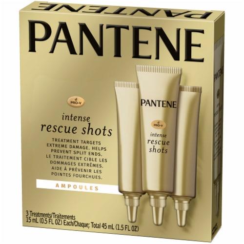 Pantene Pro-V Intense Rescue Shots Hair Ampoules Treatments Perspective: right