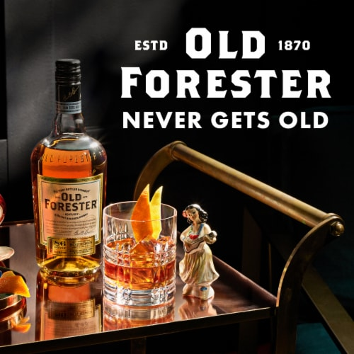 Old Forester® Kentucky Straight Bourbon Whisky Perspective: right