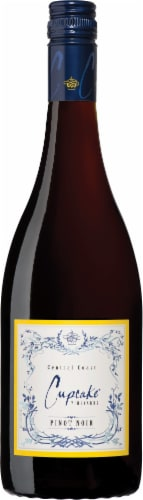 Cupcake Pinot Noir Red Wine Perspective: right