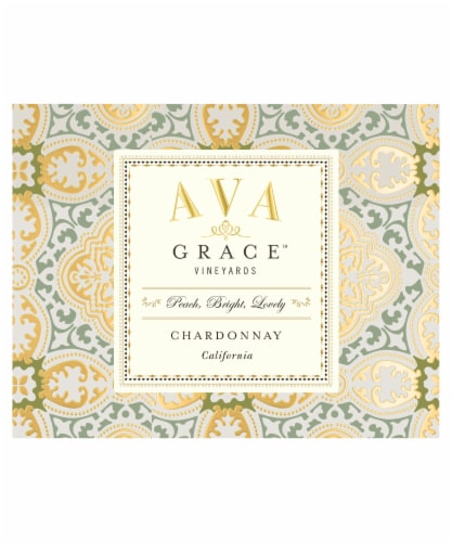 Ava Grace Chardonnay White Wine Perspective: right