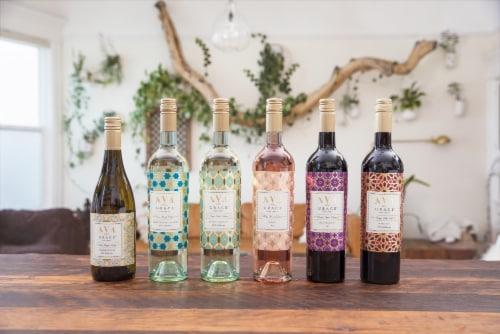 Ava Grace Sauvignon Blanc White Wine Perspective: right