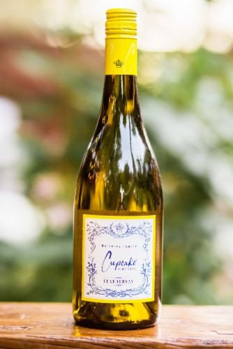 Cupcake Vineyards Chardonnay White Wine Perspective: right