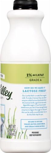 Green Valley Lactose Free Organic Plain Lowfat Kefir Perspective: right