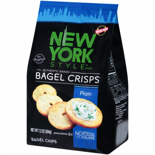 New York Style Plain Bagel Crisps Perspective: right