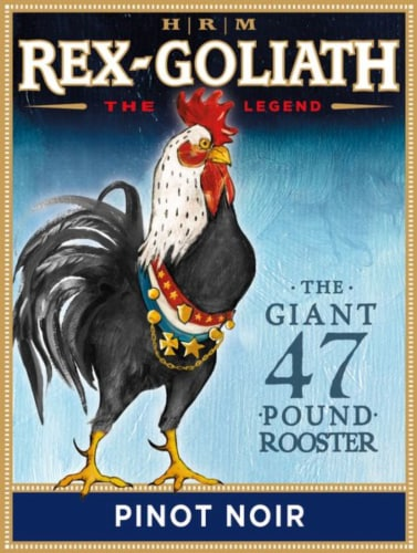 Rex-Goliath Pinot Noir Red Wine Perspective: right