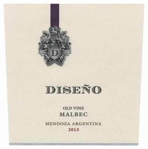 Diseno Malbec Red Wine Perspective: right