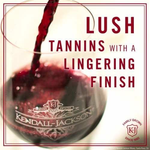 Kendall-Jackson Vintner's Reserve Cabernet Sauvignon Red Wine Perspective: right