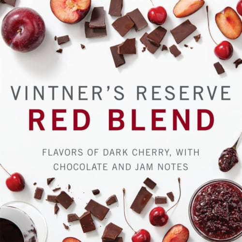 Kendall-Jackson Vintner's Reserve Red Blend Red Wine Perspective: right