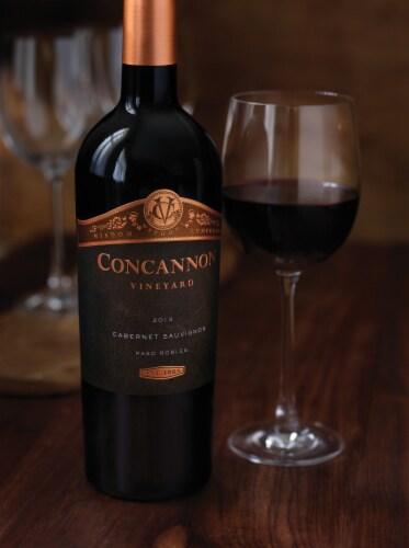 Concannon Founders Cabernet Sauvignon Red Wine Perspective: right