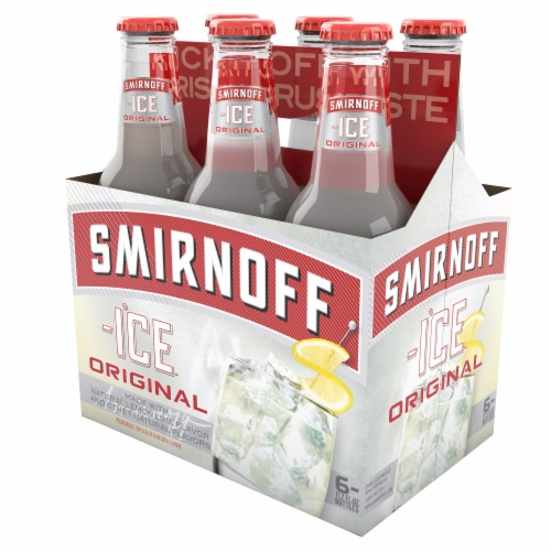 Smirnoff Ice Original Lemon Lime Premium Malt Beverage Perspective: right