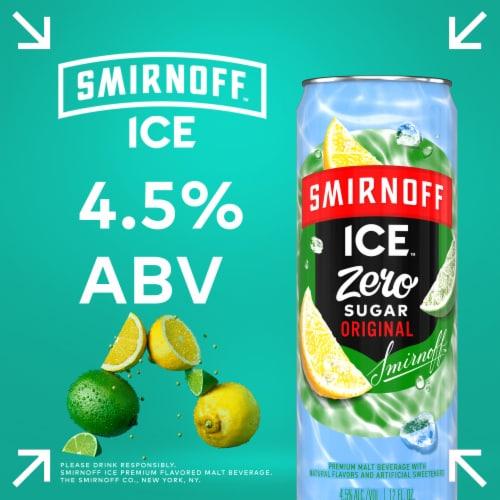 Smirnoff Ice Original Zero Sugar Premium Malt Beverage Perspective: right