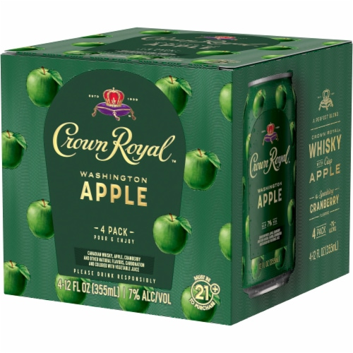 Crown Royal Washington Apple & Whisky Cocktail Perspective: right