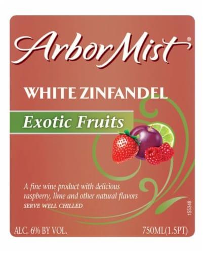 Arbor Mist Exotic Fruit White Zinfandel Fruit Wine Perspective: right