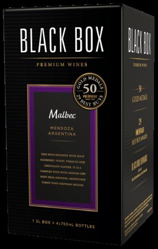 Black Box Malbec Red Wine Perspective: right