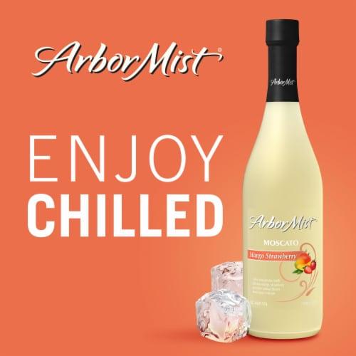 Arbor Mist Mango Strawberry Moscato White Wine Perspective: right