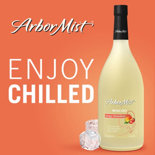 Arbor Mist Mango Strawberry Moscato White Wine Perspective: right