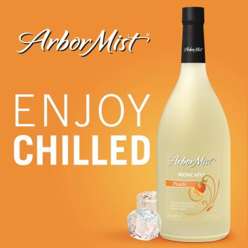 Arbor Mist Peach Moscato Fruit Wine Perspective: right