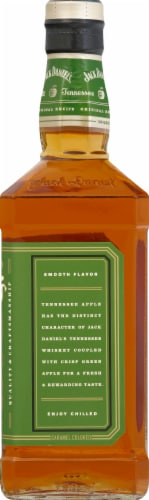 Jack Daniel's Tennessee Apple Tennessee Whiskey Perspective: right