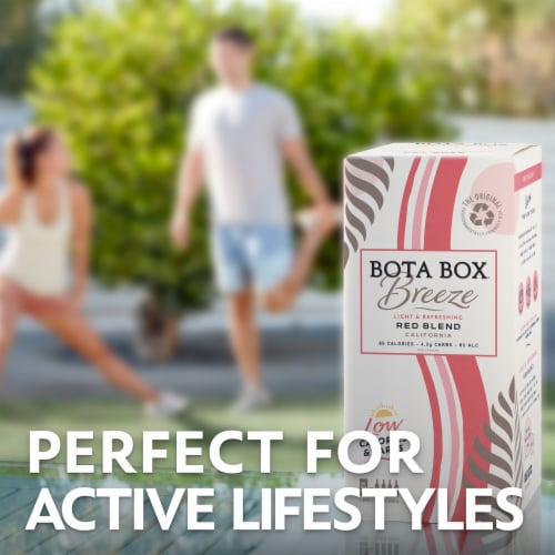 Bota Box Breeze Red Blend Red Wine Perspective: right
