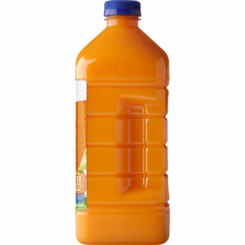 Naked Immune Support Orange Carrot Mango Juice Blend Perspective: right