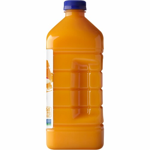 Naked Juice 100% Mighty Mango Flavored Juice Blend Drink Perspective: right