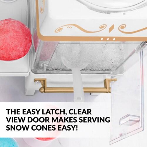 Nostalgia Snow Cone Maker - White Perspective: right