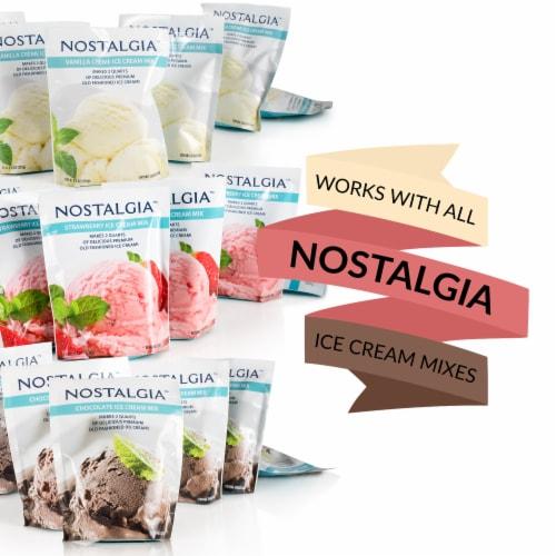 Nostalgia Double Flavor Ice Cream Maker Perspective: right