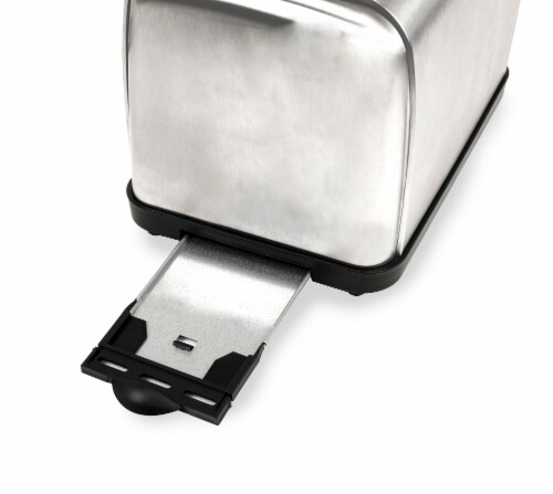 HomeCraft Stainless Steel 2-Slice Toaster - Silver Perspective: right