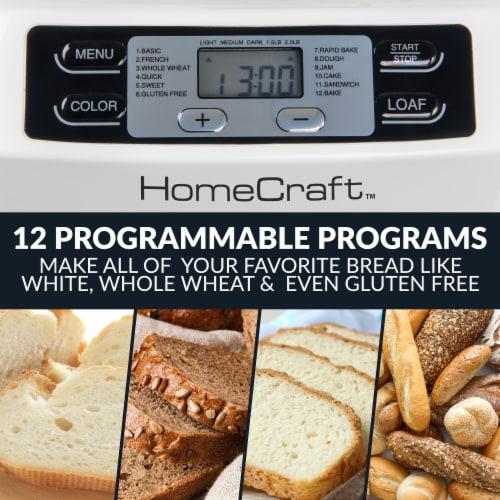 HomeCraft Programmable Breadmaker Perspective: right