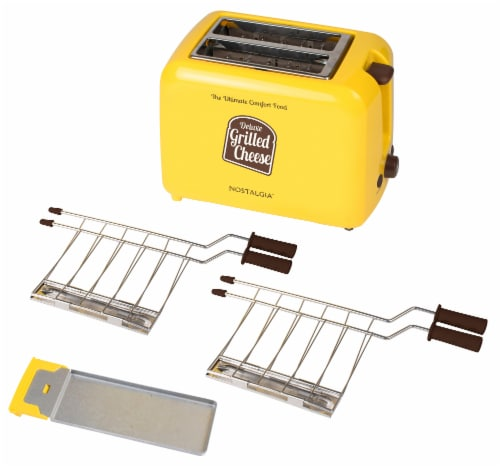 Nostalgia Deluxe Grilled Cheese Sandwich Toaster Perspective: right