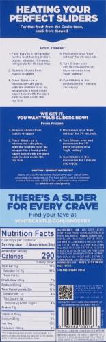 White Castle The Original Hamburger Sliders Perspective: right