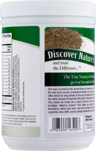 Nature's Answer Chia Seeds Perspective: right