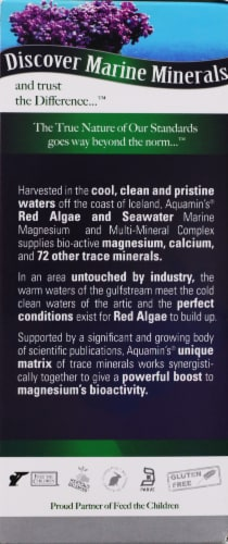 Nature's Answer Plant Based Magnesium 500 mg Dietary Supplement Perspective: right